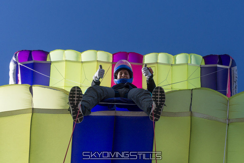 """Melissa gives this jump two thumbs up! Published in Go Local, May 2016. <br><span class=""""skyfilename"""" style=""""font-size:14px"""">2016-02-27_skydive_cpi_0100</span>"""
