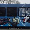 UConn shuttle bus. Photo by Doug H.