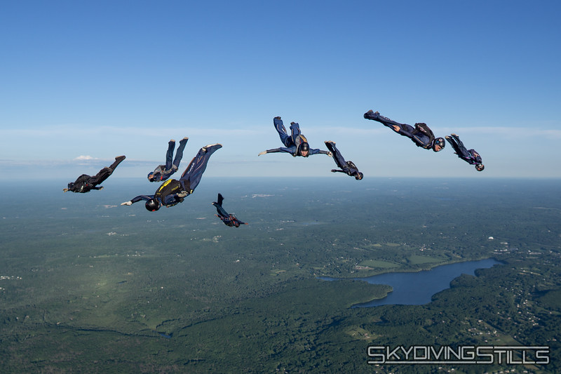 Breakoff. Published in Parachutist, centerfold, August 2020.