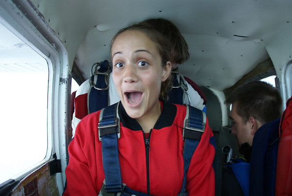 Chrissy Serra's 1st Jump