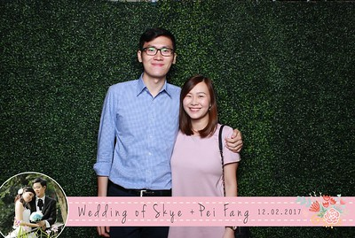 Skye + Pei Fang Photobooth Album