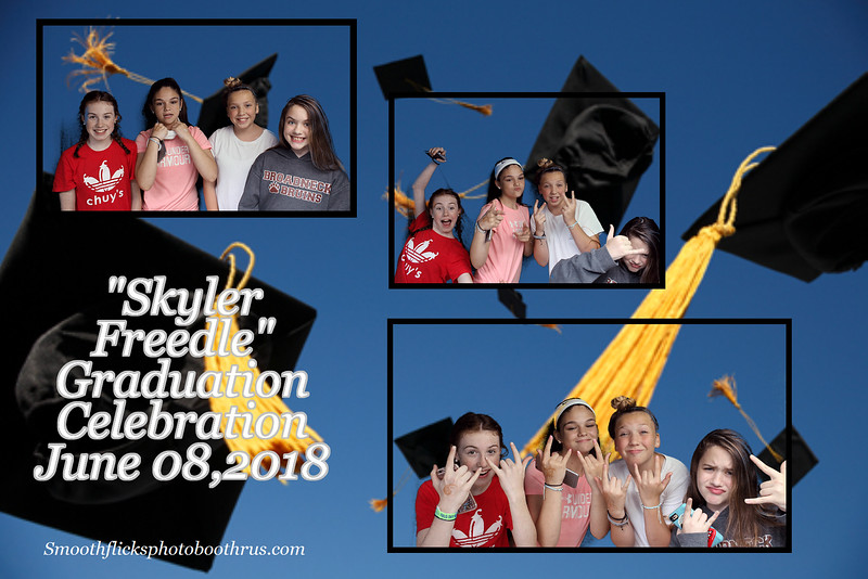 Skyker Freedle Graduation Celebration June 08,2018