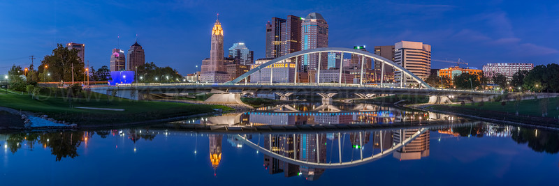 Nighttime Columbus Skyline  - 2603
