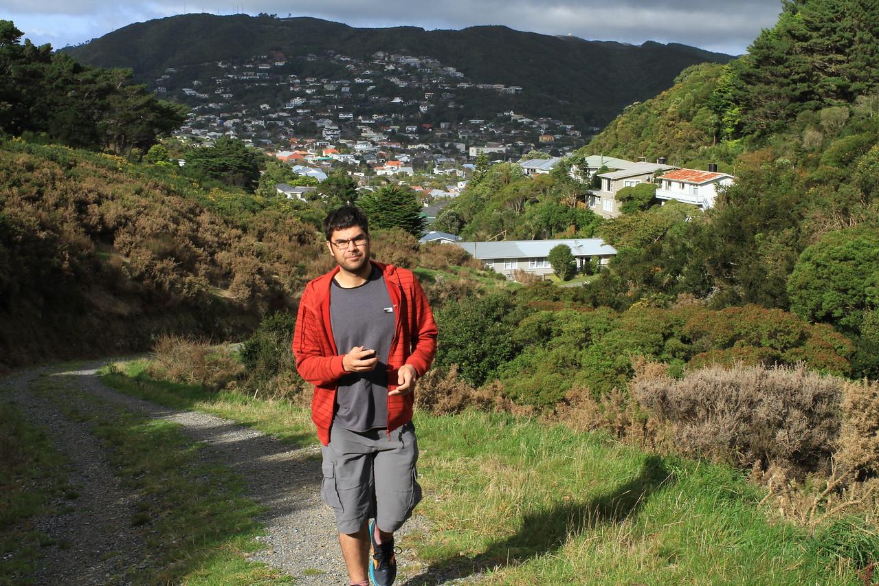 Beginning of the walk