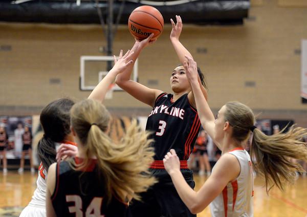 Skyline vs Erie Girls Bball