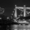 Grain Belt Beer Sign with the Hennepin Avenue Bridge