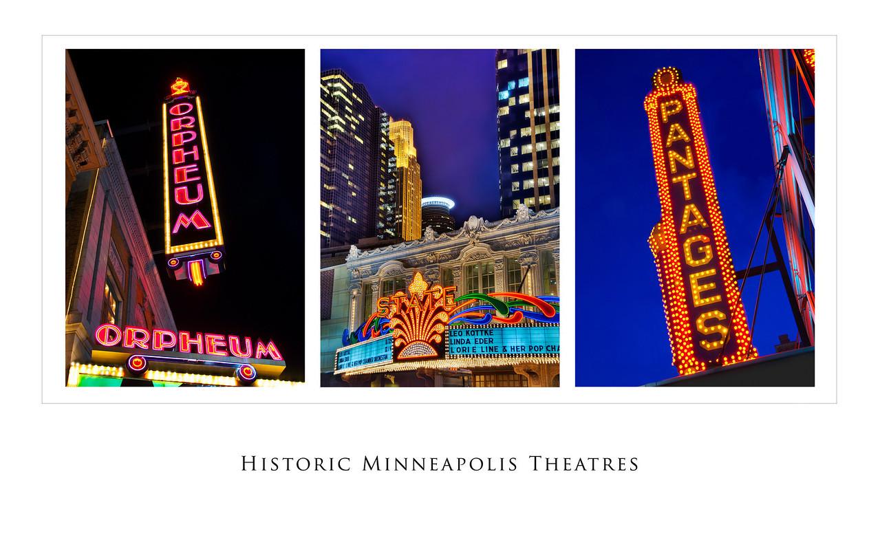 Historic Minneapolis Theatres---SL2012