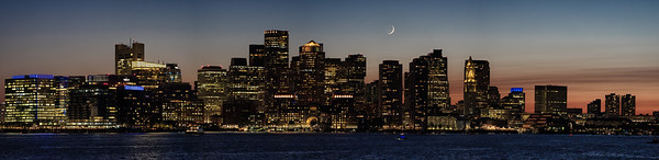 Blue Hour Boston