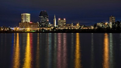 Springfield, MA Nightscape