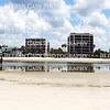 Panoramic view of Ft. Myers Beach condos in Florida
