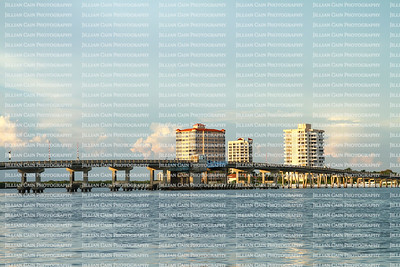 Big Carlos Pass Bridge connecting Fort Myers Beach to Bonita Springs, Florida, USA