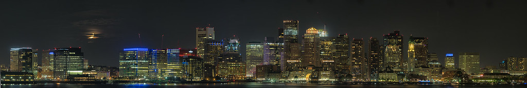 Boston Night Scape