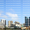 Panoramic view of downtown Fort Lauderdale, Florida, USA