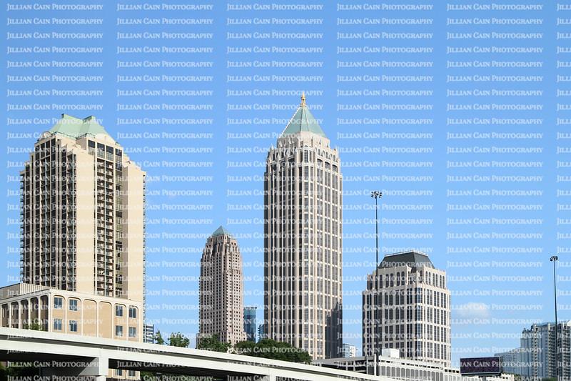Downtown Atlanta, Georgia's skyline on a beautiful clear day