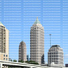 Downtown Atlanta, Georgia's skyline on a beautiful clear day