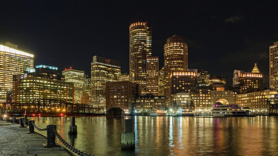 Boston Nightscape