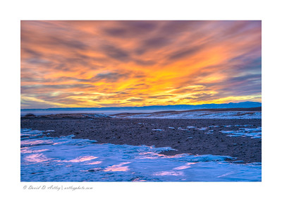 San Luis Valley Sunset, Great Sand Dunes National Park, CO