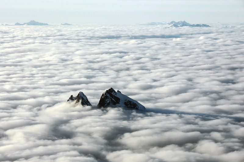Above the clouds, Canadian Rockies