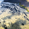 Sediment-rich braided river, Iceland