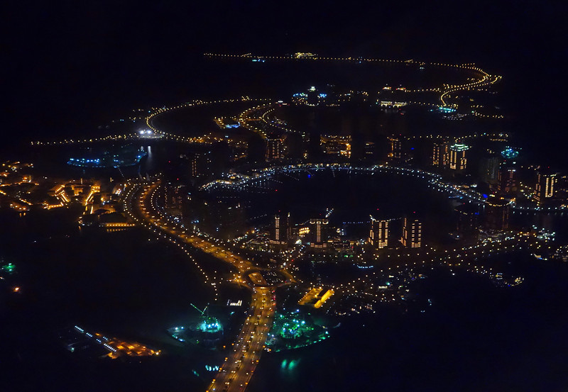 Rapidly expanding modern city of Doha, Qatar