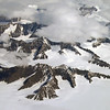 Layer-cake basalts and glaciers in the Sortebræ ranges, east-central Greenland