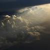 Lightplay under anvil of large thundercloud, Niger