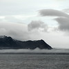 Vestre Torell glacier and Peder Kokkfjellet massif along the west coast of Wedel Jarlsberg Land, Svalbard