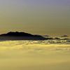 Early winter morning near Salerno, Italy