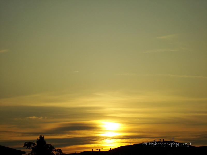 Sunset, Whittier, CA