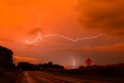Champlin MN Sunset Lightning 8/14/20