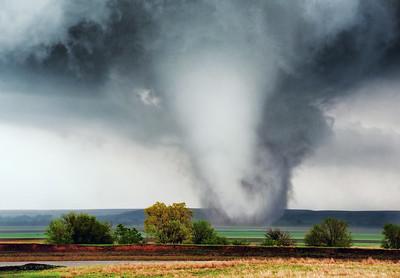 EF4 Tornado near Salina, KS by Melanie Metz