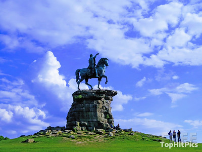 The Copper Horse Statue On The Long Walk, Windsor, England