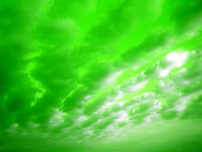 Hand Above Ontario Green