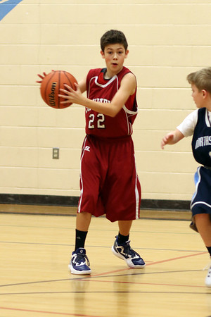 SJH JV Boys' Basketball vs. NJH
