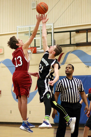 SJH Varsity Basketball vs. Timbercrest