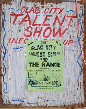 Slab City Talent Shows
