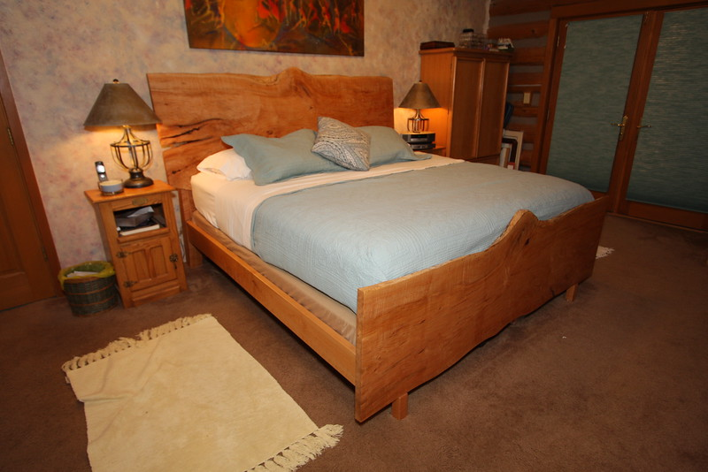 Maple Headboard and footboard