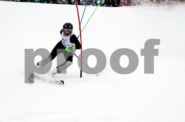 Slalom Run, Eastern FIS at Okemo, Jan 7, 2017,