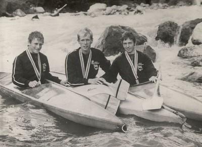 1969 Bourg GBR team Silver Medallists Ken Langford Ray Calverley John MacLeod.