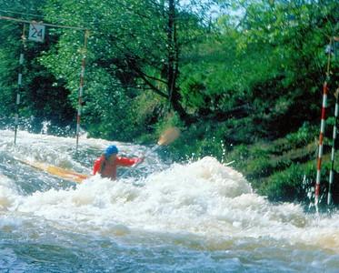 1977 Tryweryn Silver Jubilee Slalom  Chris Lovelock