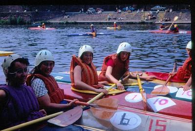 Chester Wier 1975   K1 Ladies  (#1 is Ingrid Bell )