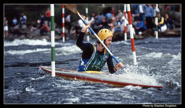 Grandtully 1981 Commonwealth Games Jim Jayes