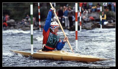 Grandtully 1981 Commonwealth Games Sue Garriock