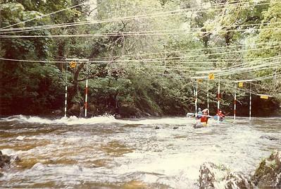 Army Canoe Champs Llandysul 1981