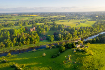 Dunmoe Castle and Ardmulchan Castle