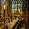 Inside Ripon Cathedral