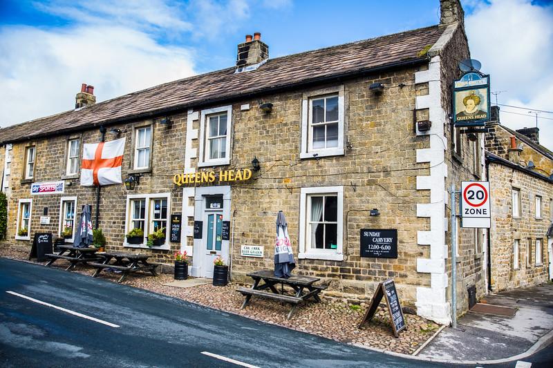 Queen's Head pub, Kirkby Malzeard