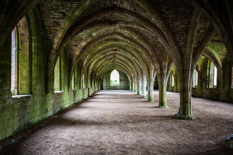 Cloisters, Fountains Abbey