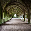 Cloisters, Fountains Abbey