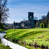 River Ure and Fountains Abbey